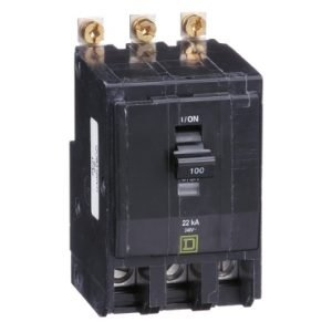 Interruptor Termomagnético QOB3100VH