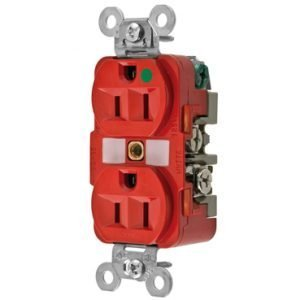 Tomacorriente  HBL8200RED