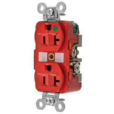 Tomacorriente  HBL8300RED