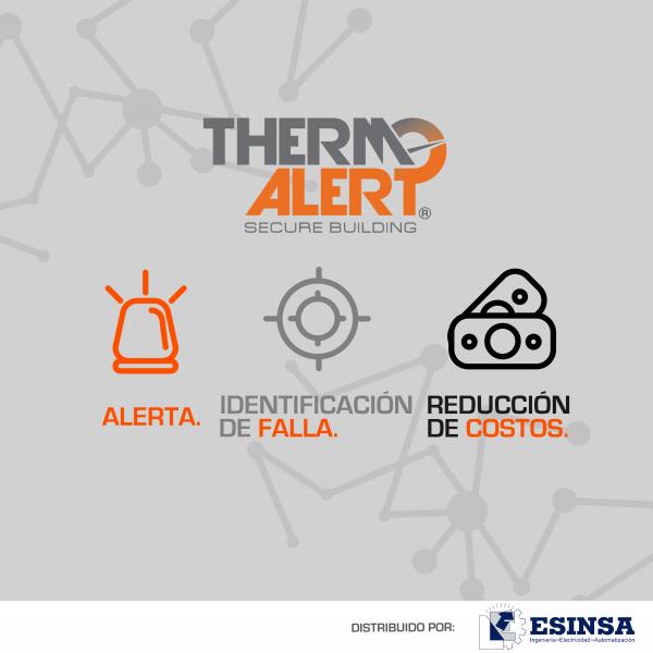 Alerta e identifica Fallas con ThermoAlert