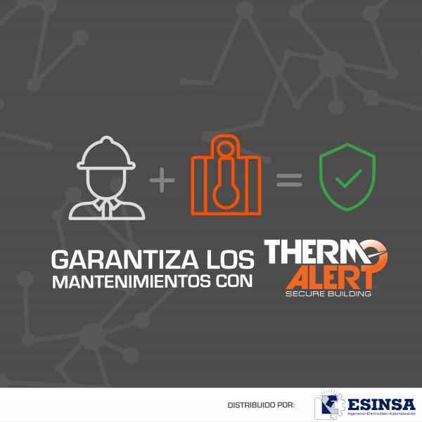 Garantiza mantenimientos con ThermoAlert